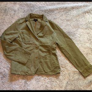 Green gap denim jacket